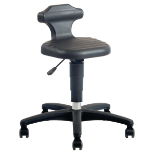 INTEROIS 9408 INDUSTRIAL CHAIR- BLACK