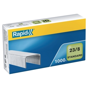 Rapid 23/8 Standard Staples - Box of 1000