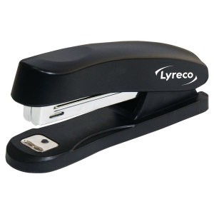 LYRECO BLACK NO.10 POCKET STAPLER - 16 SHEET CAPACITY