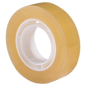 LYRECO BUDGET CLEAR STICKY TAPE 12MM X 33M - PACK OF 12