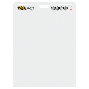 POST-IT MEETING CHARTS 775X635MM 30 SHEETS - PACK 2