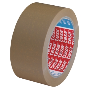 TESA BROWN PVC PACKAGING TAPE 50MM X 66M - 52 MICRONS