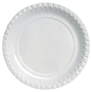 DUNI WHITE PAPER PLATES - PACK OF 100  sc 1 st  Lyreco & Plates u0026 bowls