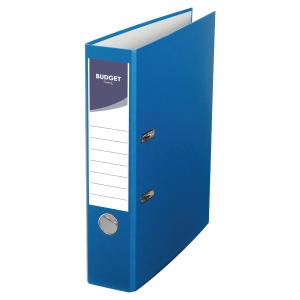 LYRECO BUDGET BLUE A4 LEVER ARCH FILE 75MM
