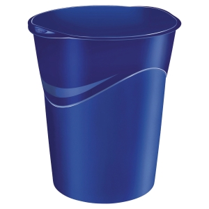 LYRECO WASTE BIN 15 LITRE BLUE