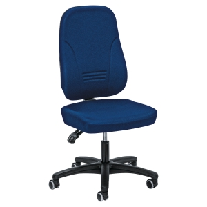 YOUNICO 1451 HIGH BACK CHAIR BLUE - ARMS NOT INCLUDED