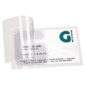 3L 66 X 100MM SELF LAMINATING POUCHES 300 MICRON (2 X 150) - PACK OF 100