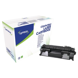 LYRECO COMPATIBLE 05A LASER CARTRIDGE HP CE505A - BLACK