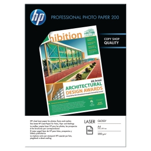 HP CG966A PROFESSIONAL GLOSSY LASER PAPER A4 200G - PACK OF 100 SHEETS