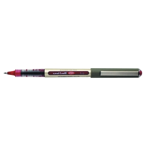 UNIBALL UB157 EYE ROLLERBALL 0.5MM LINE WIDTH - RED - BOX OF 12