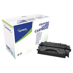 LYRECO COMPATIBLE 05X HP HIGH YIELD LASER CARTRIDGE CE505X - BLACK