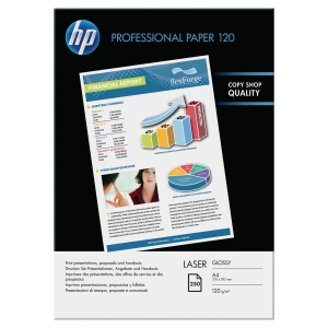 HP CG964A GLOSSY LASER PHOTO PAPER WHITE A4 120GSM - PACK OF 200 SHEETS