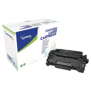 LYRECO 55A HP COMPATIBLE PRINT CARTRIDGE CE255A - BLACK
