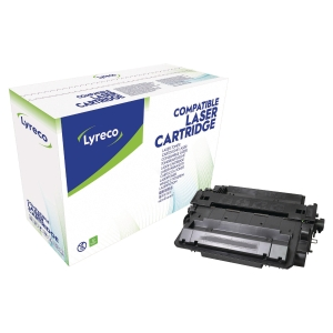 LYRECO COMPATIBLE 55X HP COMPATIBLEHIGH YIELD PRINT CARTRIDGE  CE255X - BLACK