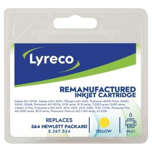 LYRECO HP COMPATIBLE NO. 364 CB320EE INK CARTRIDGE YELLOW