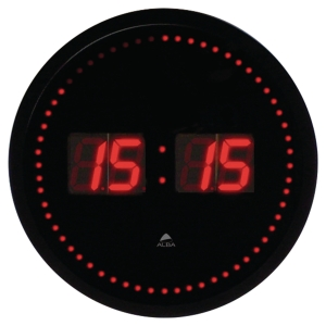 ALBA LED CLOCK