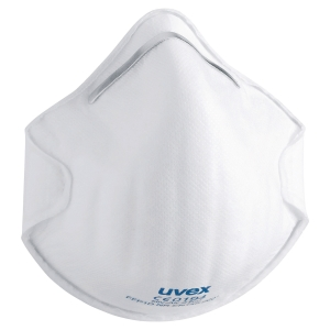 UVEX SILV-AIR C 2100 CUP STYLE RESPIRATOR MASKS (BOX OF 20)