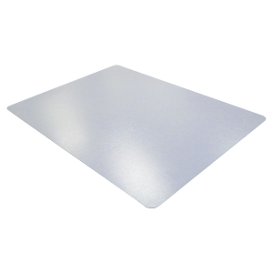 CLEARTEX PHTHALATE FREE PVC HARD FLOOR CHAIRMAT 1200 X 900MM