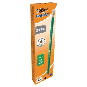 BIC 880332 EVOLUTION 655 PENCIL HB BOX OF 12