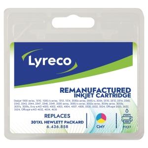 LYRECO INKJET CART HP301XL CH564EE COLOUR