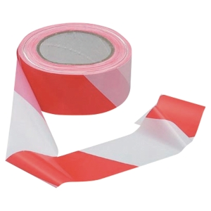 TESA MARKING TAPE RED AND WHITE