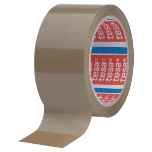 TESA 4089 PP PACK TAPE 50MMX66M BROWN