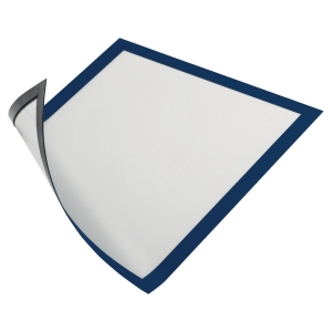 DURABLE DURAFRAME MAGNETIC DISPLAY FRAME A4 BLUE PACK OF 5