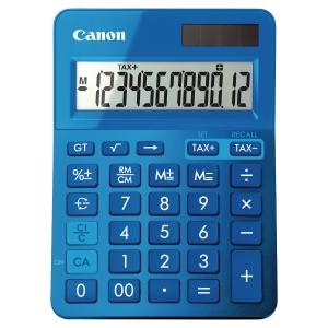 CANON K-SERIES DESK CALCULATOR BLUE