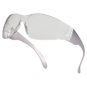 POLYCARBONATE SAFETY SPECTACLES CLEAR LENS
