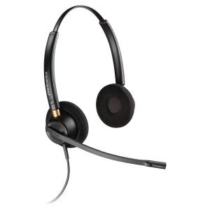 PLANTRONICS BINAURAL PHONE HEADSET ENCOREPRO HW520