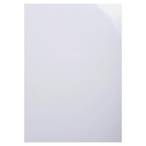 EXACOMPTA CHROMOLUX PRESENTATION COVER, A4, 250GSM - WHITE, PACK OF 100