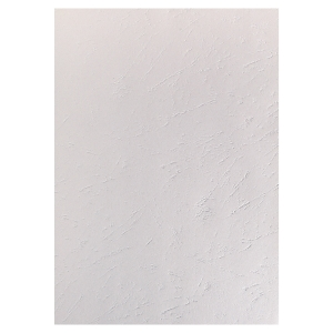 EXACOMPTA LEATHERGRAIN BINDING COVERS WHITE - BOX OF 100