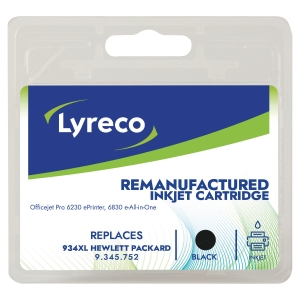 LYRECO COMPATIBLE INKJET CARTRIDGE HP C2P23A BLACK
