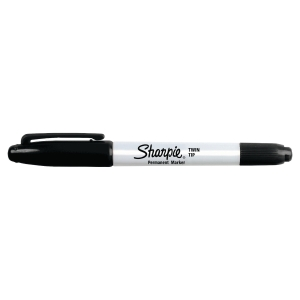 SHARPIE MARKER TWIN TIP BLACK