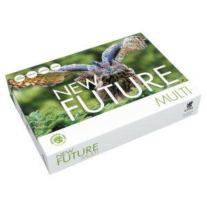 FUTURE MULTITECH WHITE A4 PAPER 80GSM - BOX OF 5 REAMS (5 X 500 SHEETS)
