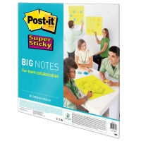 POST-IT SUPER STICKY BIG NOTES BN22-EU 55.8CM X 55.8CM - PACK OF 30 SHEETS