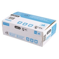 EXACOMPTA CASH REGISTER RECEIPT ROLLS, 80MX72MM, BOX OF 6