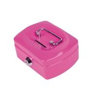 PAVO 8007400 CASH BOX STEEL PINK
