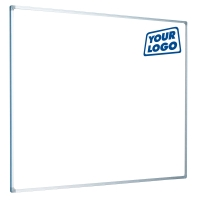 CUSTOM LOGO PRINTED MAGNETIC WHITEBOARD 2400MM X 1200MM