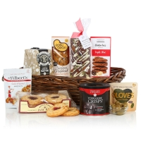 GLUTEN & WHEAT FREE BASKET FESTIVE HAMPER