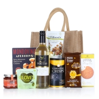 THE VEGAN JUTE BAG FESTIVE HAMPER