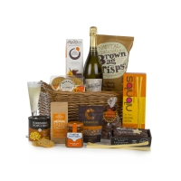 NON ALCOHOLIC TREATS FESTIVE HAMPER