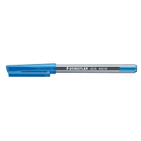 STAEDTLER STICK 430 BALL POINT BLUE PENS 0.7MM LINE WIDTH - BOX OF 10