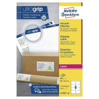 AVERY L7165-100 BLOCKOUT LASER SHIPPING/PARCEL LABELS 99.1X67.7MM - BOX OF 100