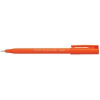 PENTEL ULTRAFINE S570 FINELINER RED PENS 0.5MM LINE WIDTH - BOX OF 12