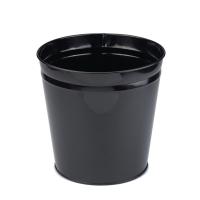 CEP BLACK METAL WASTE BIN - 15 LITRE CAPACITY