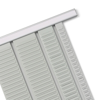 T-CARD PANEL SIZE 3 (96MM WIDE) 660MM LONG - 32 SLOTS