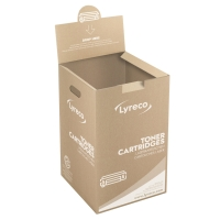FREE LYRECO TONER CARTRIDGE RECYCLING BOX 65 X 40 X 40