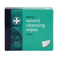 ALCOHOL FREE WIPES (PACK OF 10)