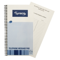 LYRECO TELEPHONE MESSAGE BOOK - 80 SHEETS